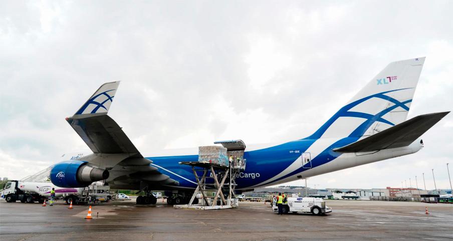 avion carga